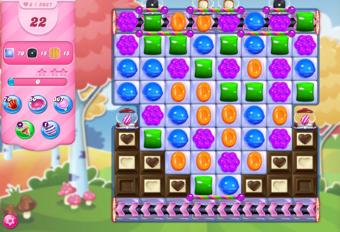 Candy Crush Saga level 5027