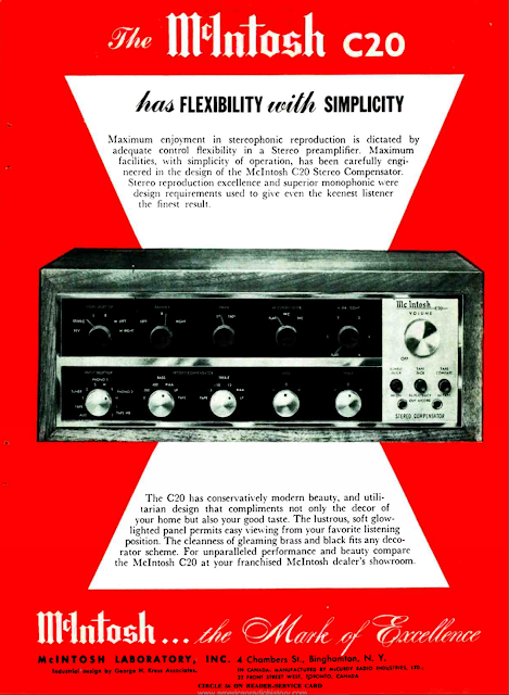 McIntosh C20 Advert