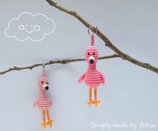 Kakelende Kipjes En Roze Flamingos Simply Made By Alma