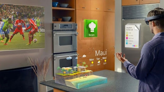 IT ROVERS: Microsoft introduce's Holographic Technology