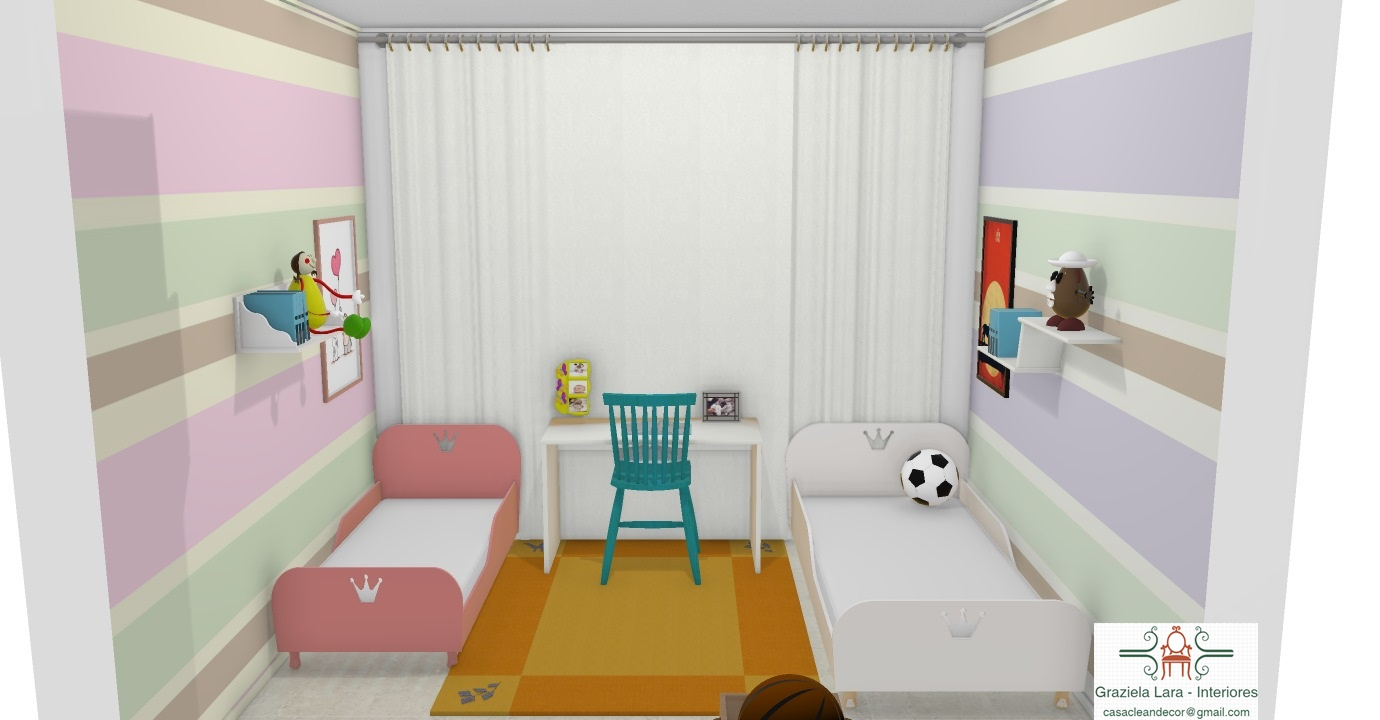Construindo Minha Casa Clean Consultoria De Decora O Quarto  ~ Gesso Quarto De Casal Com Quarto De Princesa Rosa