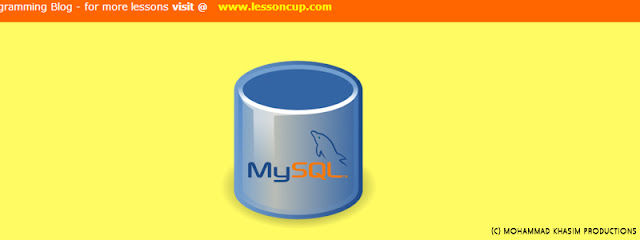mysql creating database