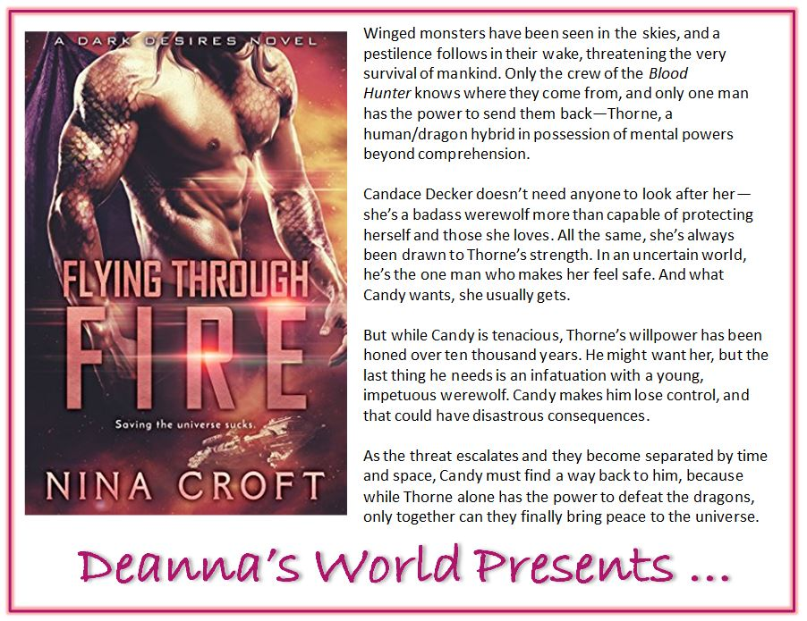 Flying Through Fire by Nina Croft blurb