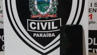Polícia Civil de Catolé do Rocha recupera celular roubado e pede que vítima procure a delegacia