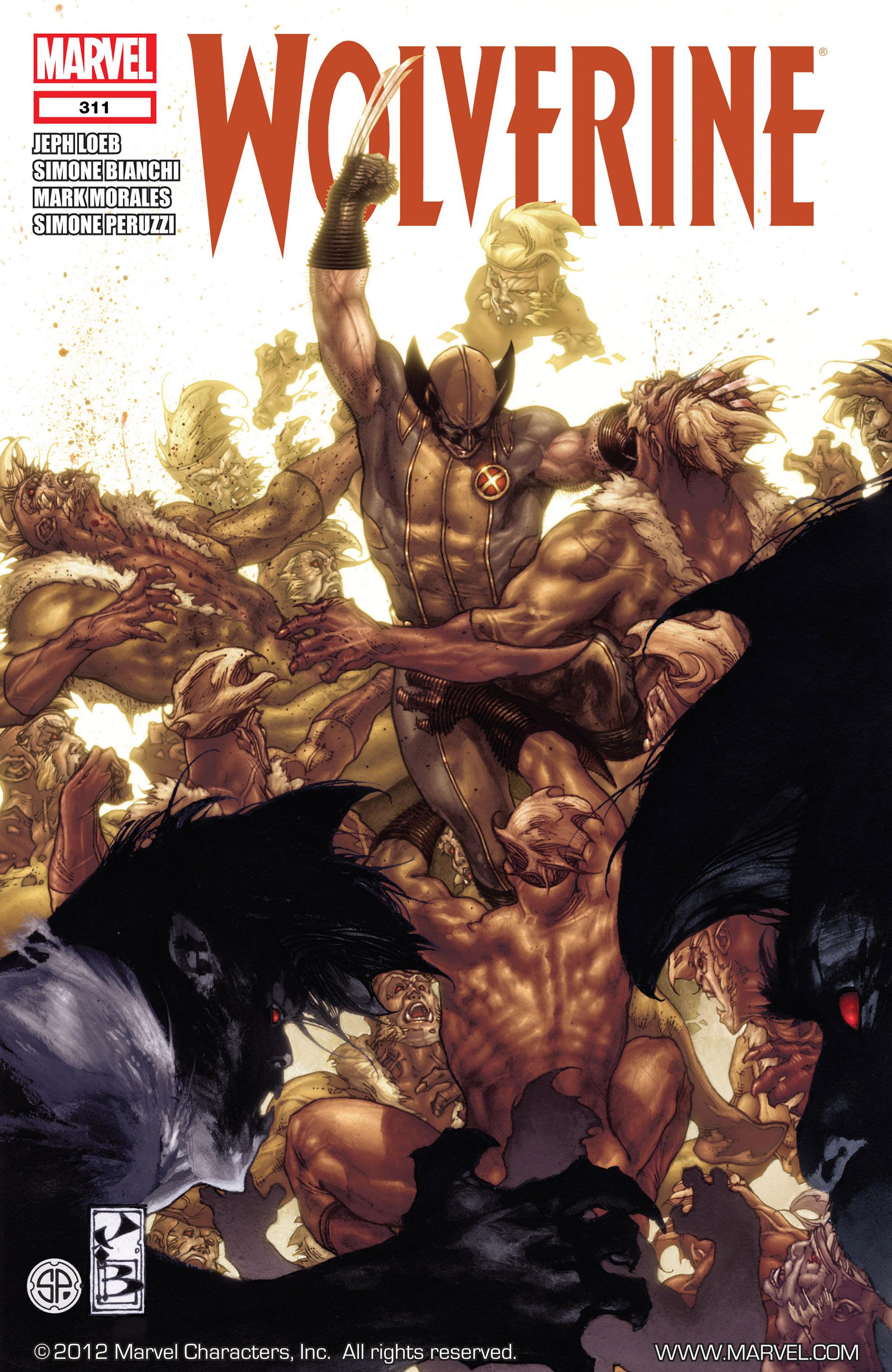 Wolverine (2010) 311 Page 1