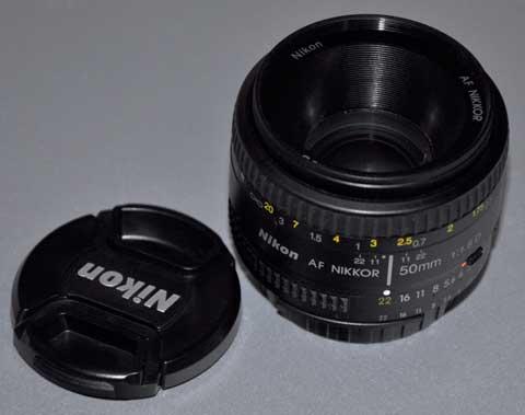 Nikkor AF 50mm