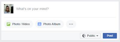 تحديث جديد في موقع الفيسبوك - حقل المشاركات