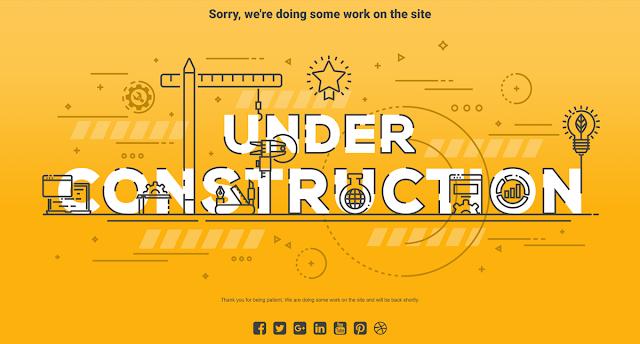 wordpress under construction page plugin