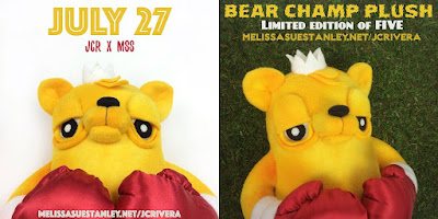 Bear Champ Plush by JC Rivera x Melissa Sue
