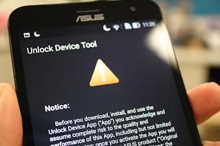 Bootloader Locked / Unlocked Asus Zenfone