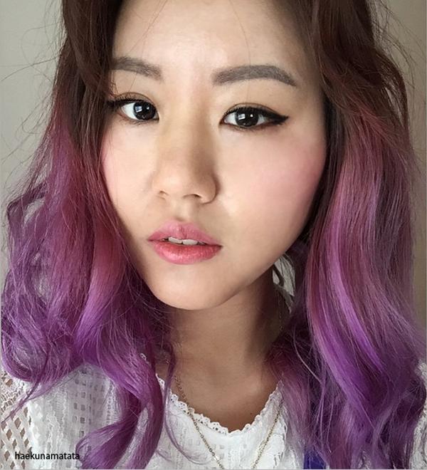 Dyed Asian Hair 31