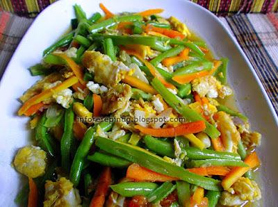 Cara Membuat Telur Orak Arik Sayuran Pedas