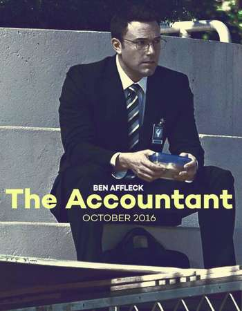 Poster Of The Accountant 2016 English 700MB HDCAM  Free Download Watch Online 300mb.cc
