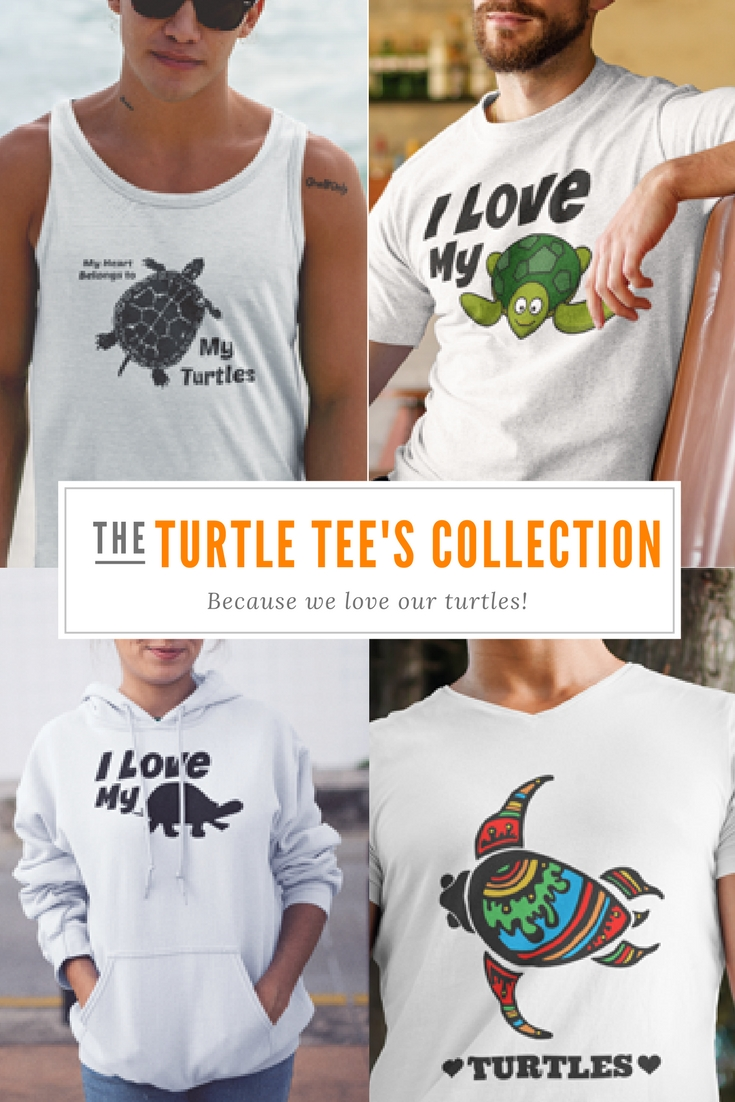 Pet Turtle T Shirts let you share your love for your special turtle friends with the world. They also make the perfect gift for all the turtle lovers in your life.