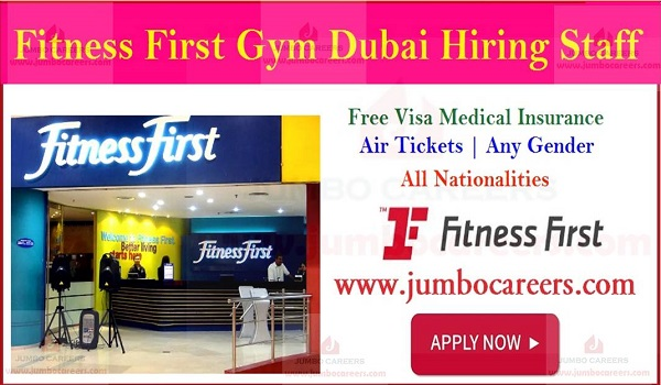 UAE Latest job openings, Gymnesium jobs in Dubai with salary and benefits,