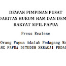 Sejarah Baru, Orang Papua dituduh Pedagang Manusia di NTT