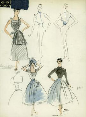Style Essentials--Audrey Hepburn's Costumes Cause the (Oscar