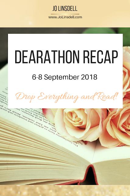 DEARathon 6-8 Sept 2018 Recap #Readathon