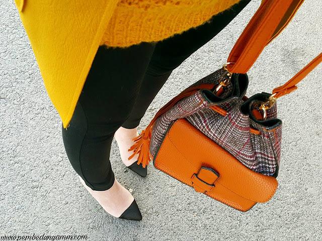 ekoseli çanta
