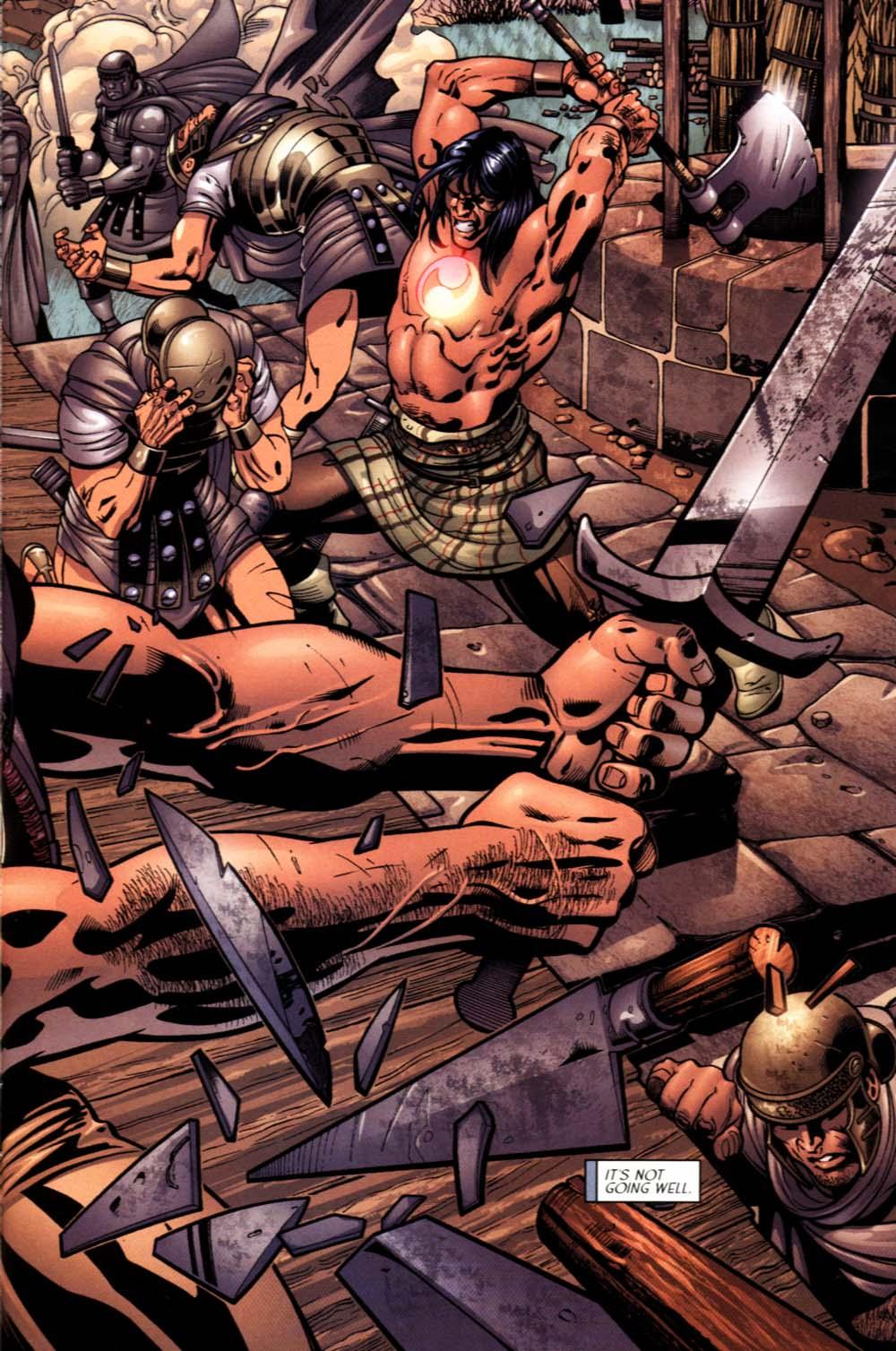 Read online Sigil (2000) comic -  Issue #19 - 7
