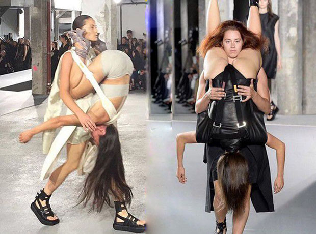 Paris Fashion Week: Rick Owens amazes with its Kamasutra travelling!