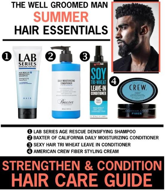 The Well Groomed Man - Summer Hair Essentials www.toyastales.blogspot.com #ToyasTales