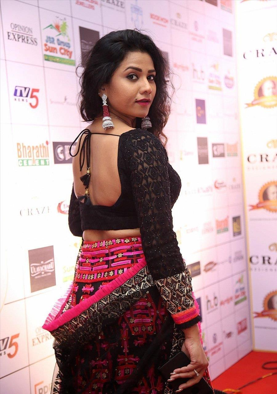 Indian Model Jyothi at Dada Saheb Phalke Awards South