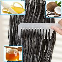 balsamo naturale per capelli fatto in casa con banana, cocco e miele