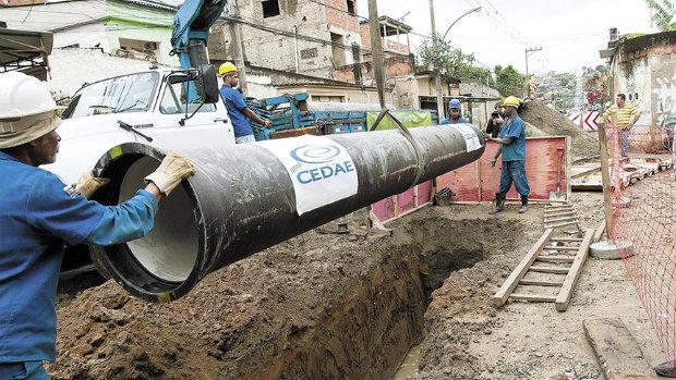Cedae anuncia Investimento de R$ 84 milhões para melhorar abastecimento de água em Belford Roxo