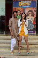 Parineeti Chopra with Ayushmann Khurrana at the Launch of Trailer of Meri Pyaari Bindu 015.JPG