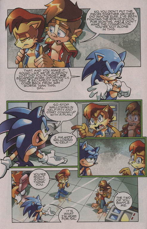 Read online Sonic The Hedgehog comic -  Issue #209 - 4