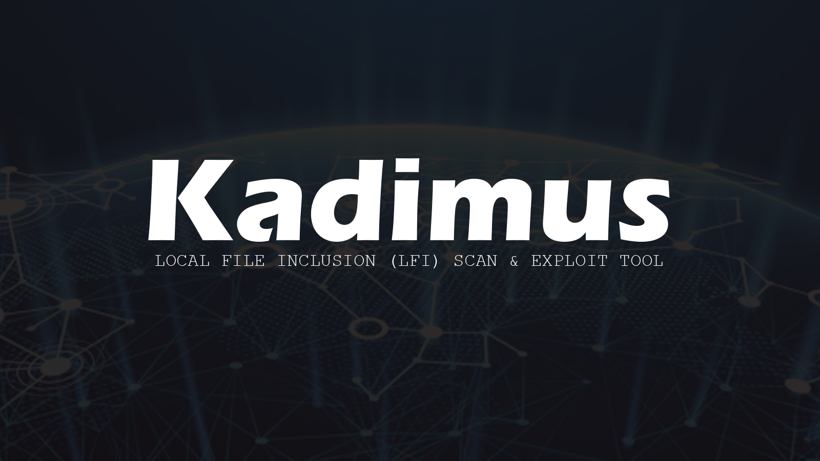 Kadimus - Local File Inclusion (LFI) Scan & Exploit Tool