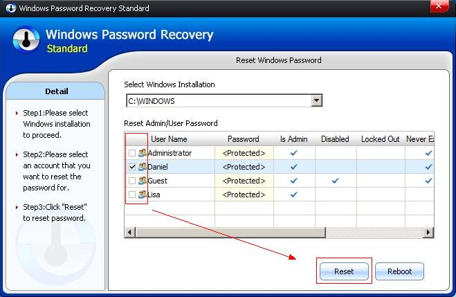 recover homegroup password