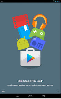 Introduction Window Google Opinion Rewards