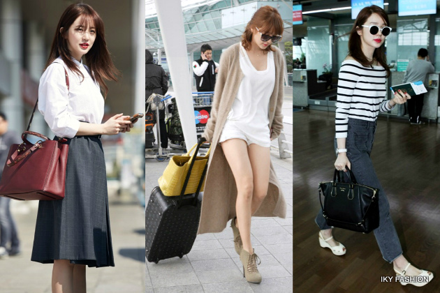 model gaya casual artis wanita korea