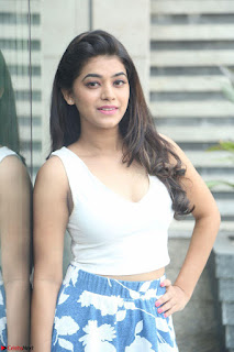 Yamini in Short Mini Skirt and Crop Sleeveless White Top 049.JPG