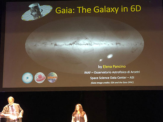 COSPAR 2018 general session presentation on Gaia: The Galaxy in 6D (Source: Elena Pancino)