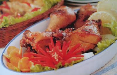 Gambar Resep Ayam Goreng Bumbu Bacem Khas Jogja