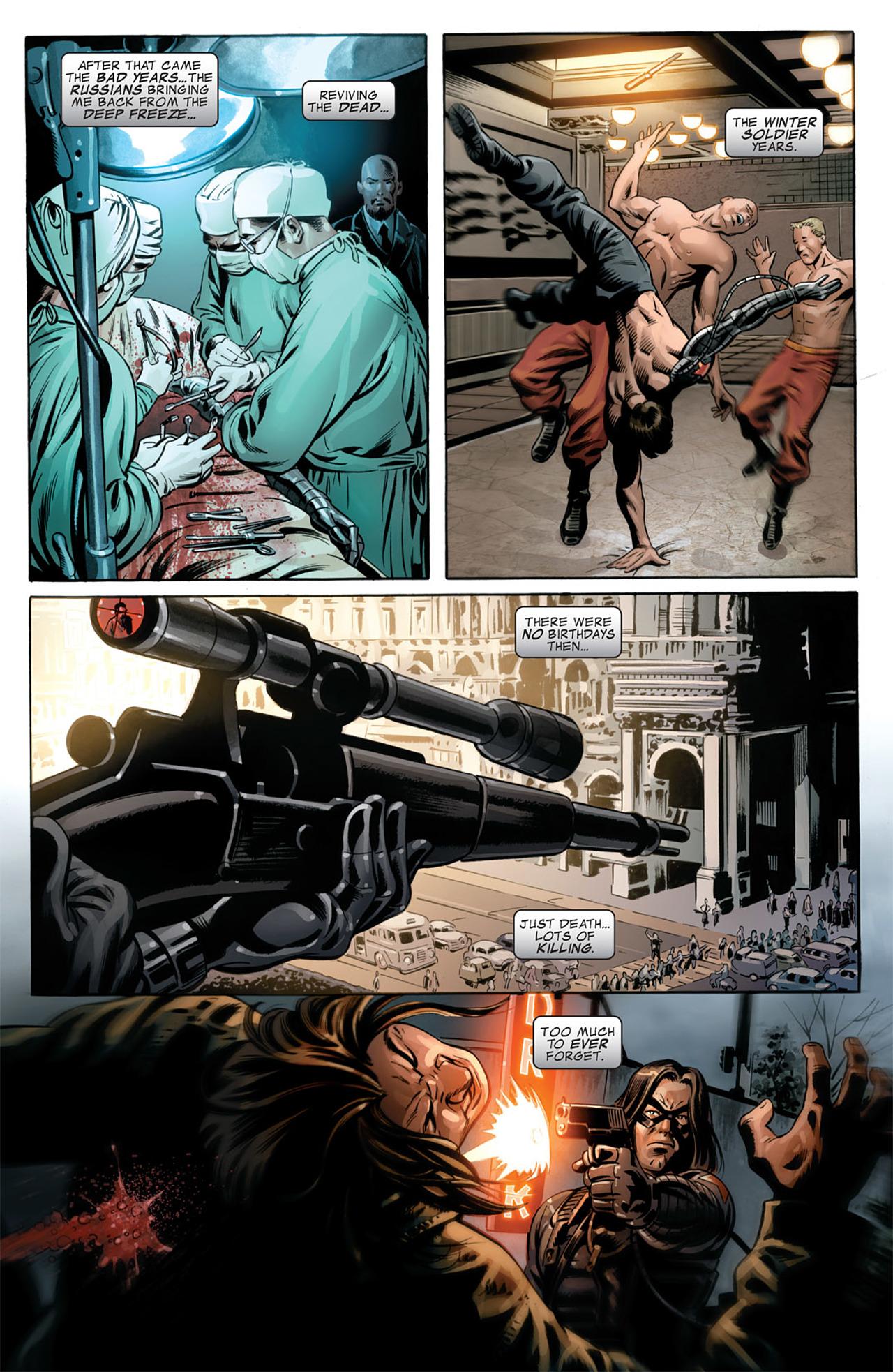 Read online Captain America (2005) comic -  Issue #50 - 19