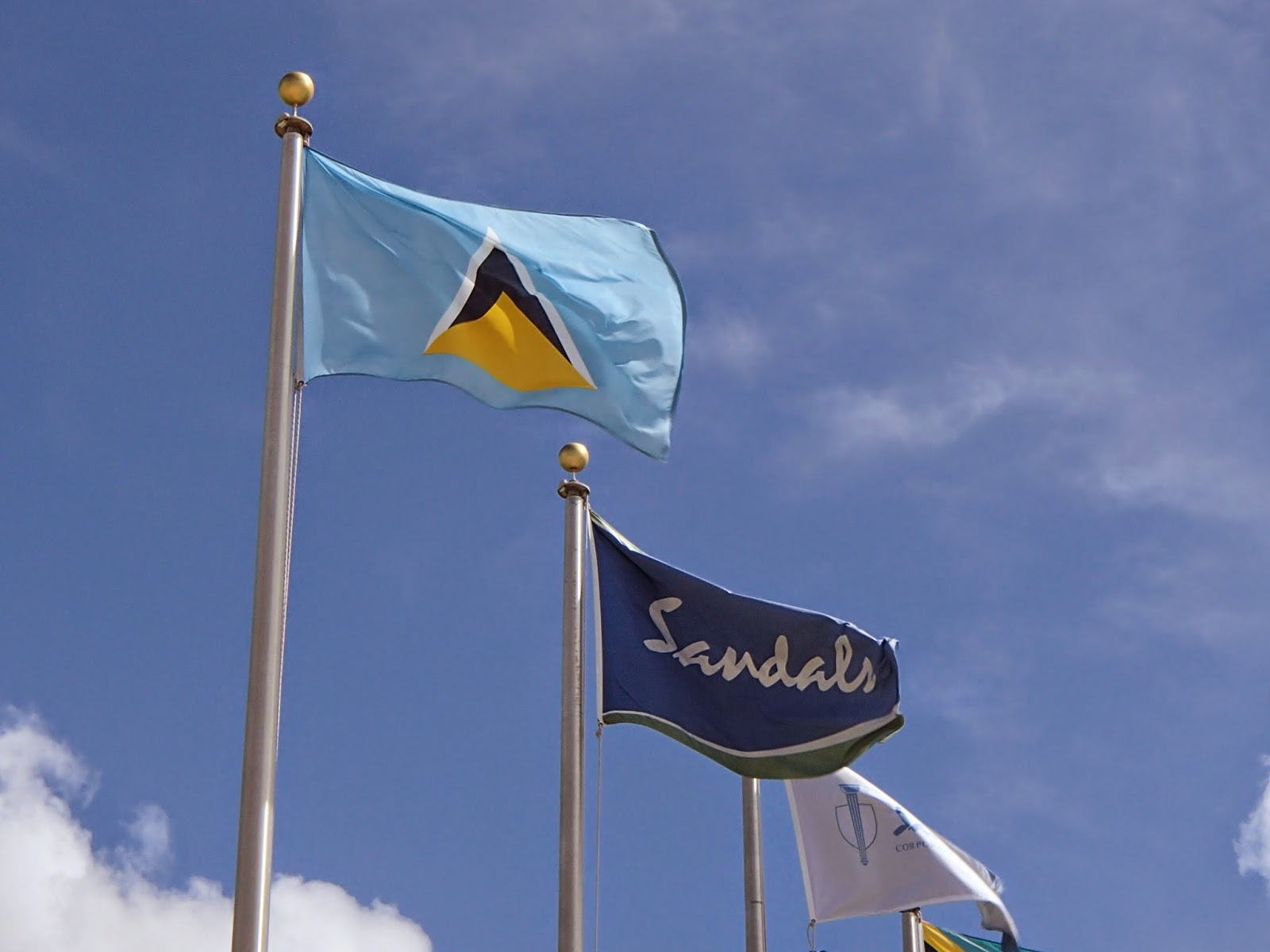 Sandals flags