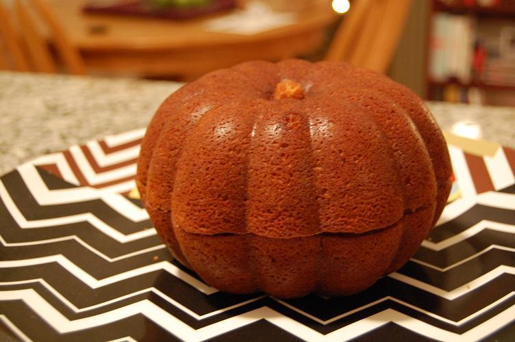 Berger Bakes Pumpkin Bundt Cake