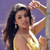 Kajal agarwal sexy back poss hot saree stills