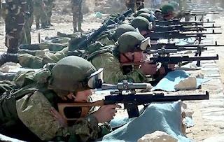 إستمرار فعاليات التدريب المشترك المصرى الروسى (حماة الصداقة 2016)