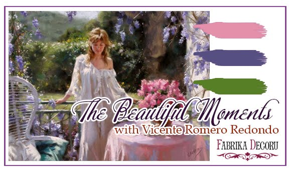 Задание июня. The Beautiful Moments with Vicente Romero Redondo до 30/06