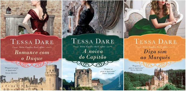 Wishlist Literaria - Romances de Época - Série Castle Ever After - Tessa Dare