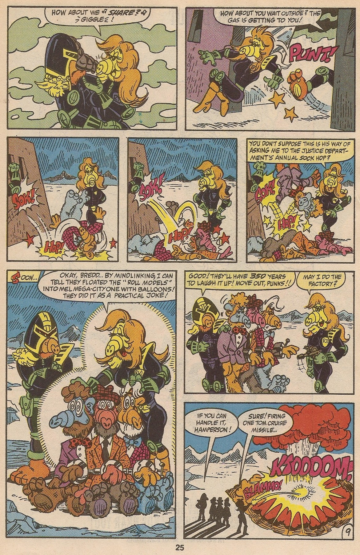Read online ALF comic -  Issue #35 - 26