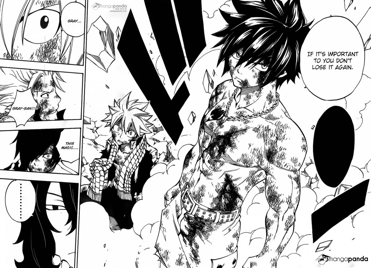 Fairy Tail Ch 407: All For My Demise