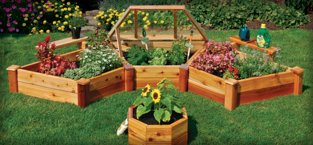 25 creative cheap raised garden bed. Black Bedroom Furniture Sets. Home Design Ideas