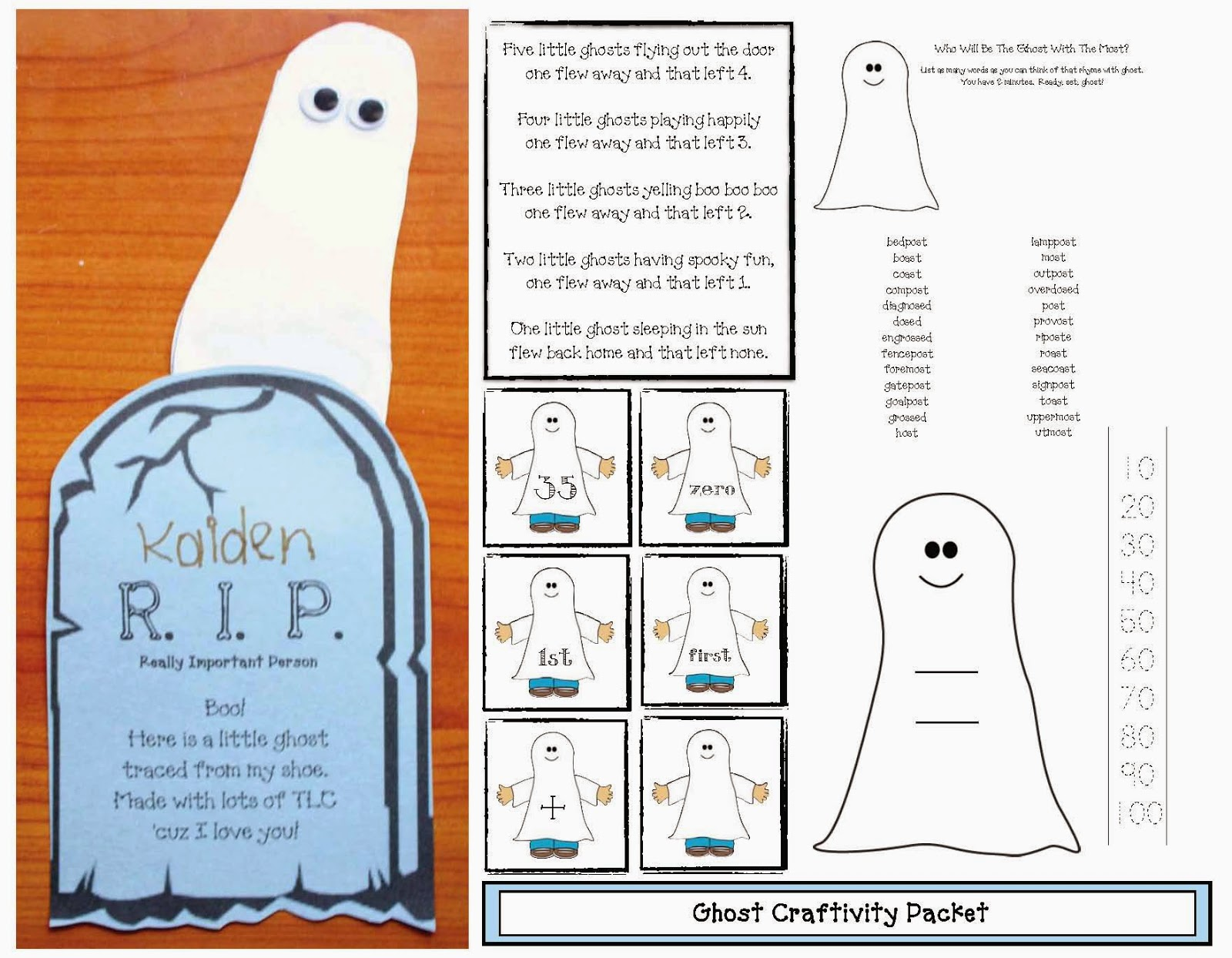 Classroom Freebies Put Some Spooktacular Into Common Core