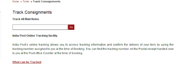Track Status - check your applications,courier ,Payment/Tax status